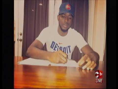 T&T National Signed Contract With NBA's Detroit Pistons