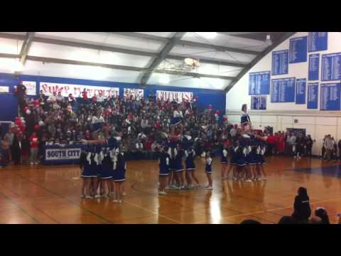 South San Francisco High School Cheer 1/18/13