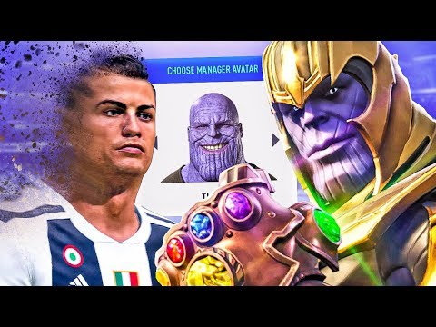 WHAT IF THANOS SNAPPED IN FIFA 19 CAREER MODE?