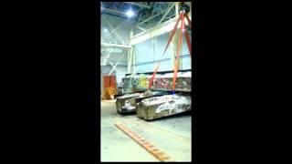 Кран мостовой опорный двухбалочный с опорной тележкой - испытание(, 2015-10-28T08:38:53.000Z)