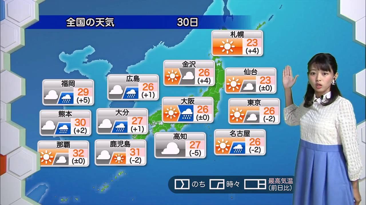 ☆お天気キャスター解説☆ 9月30日...
