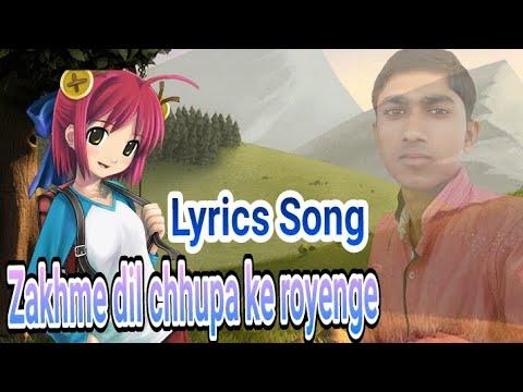 Zakhm dil chhupa ke royege khud ko aajma ke royege sintu Singh liyrc edit video