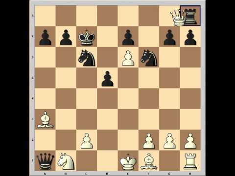 Sicilian Defense: Wing Gambit: Wood vs Mease