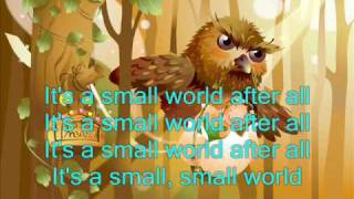 Children Song: It Is A Small World ( With lyrics)