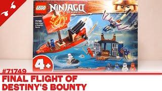 [CONSTRUCTION] LEGO Ninjago : Final Flight of Destiny's Bounty [FR]