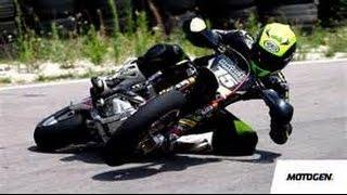 Gleby na motocyklu