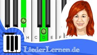 Andrea Berg - Aba Heidschi Bumbeidschi - Klavier lernen - Musiknoten - Akkorde