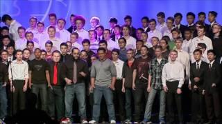 Deke Sharon and the YCF Chorus - Rhythm of Love (Plain White T's cover)