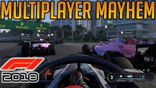 F1 2018: My Multiplayer Experience on Day One