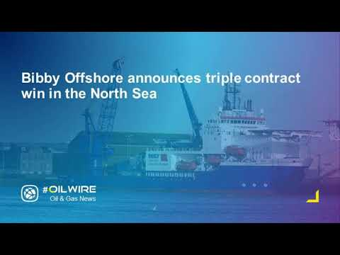 Bibby Offshore announces triple contract win in the North Sea