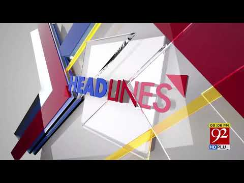 News HeadLines   9:00 PM   11 May 2018   92NewsHD