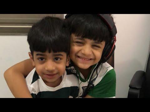 عادل و بوبو يلعبون فورتنايت لايف Youtube