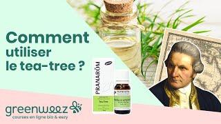 Comment utiliser l'huile essentielle de Tea tree pour une mycose ?