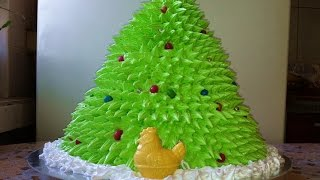 Торт Новогодняя Елочка 3D/New Year Cake Tree 3D/Новогодний Торт/Пошаговый Рецепт(Очень Вкусно)