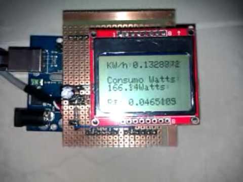 73850d6a794 Arduino medidor de consumo de energia - YouTube