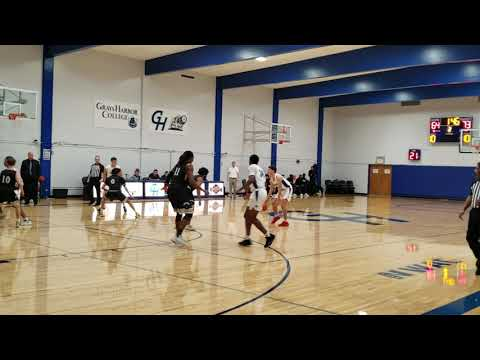 Pearson 3-pointer - Peninsula at Grays Harbor College - Men's Basketball