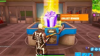 i opened a GIFT and this happened.. (NEW Fortnite GIFTING SYSTEM)