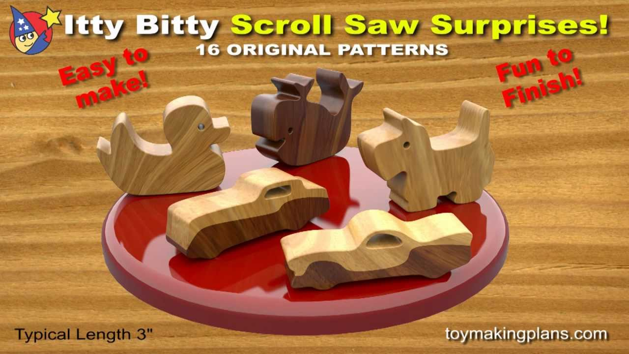 Scroll Saw Wooden Toys