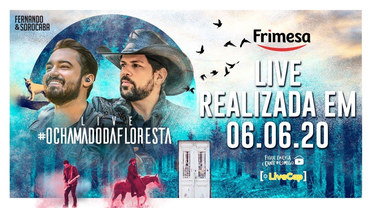 #LiveOchamadoDaFloresta - Fernando & Sorocaba | #FiqueEmCasa e Cante #Comigo