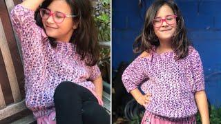 Batwing Sweater - Kids - Crochet Tutorial RIGHT HANDED
