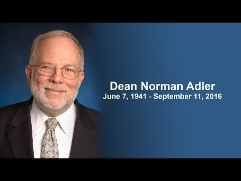 Yeshiva University's Memorial Event for Dean Norman Adler