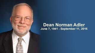Yeshiva University's Memorial Event for Dean Norman Adler