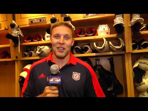 2016 World Cup of Hockey: Jack Johnson Locker Room Tour