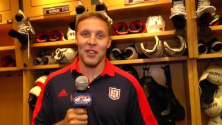 2016 World Cup of Hockey: Jack Johnson Locker Room Tour