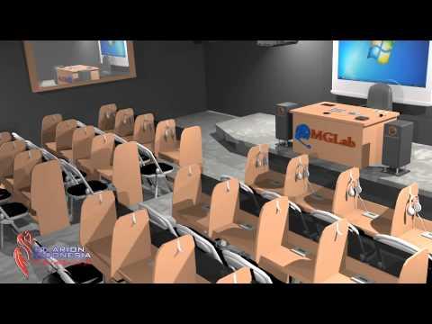 Laboratorium Bahasa tipe Digital Built Up