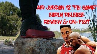 air jordan 12 flu game 2016 early review on feet