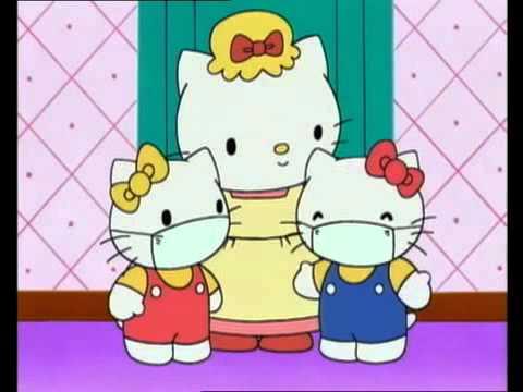 Hello kitty dessins animes et contes certifie pour enfants youtube - Hello kitty coloriage youtube ...