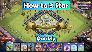 Hog Mountain Challenge | How to beat | How to 3 star | Clash of Clans