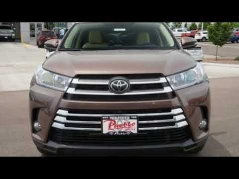 New 2018 Toyota Highlander Pueblo CO Colorado Springs, CO #187077