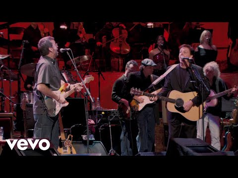Paul McCartney, Eric Clapton - Something (Live)