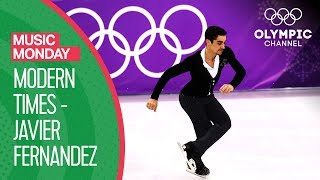 "Javier Fernandez & Charlie Chaplin's ""Modern Times"" at PyeonChang 2018 |Music Monday"