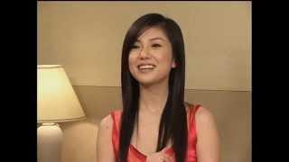 Hitomi Shimatani in future Interview 2003.