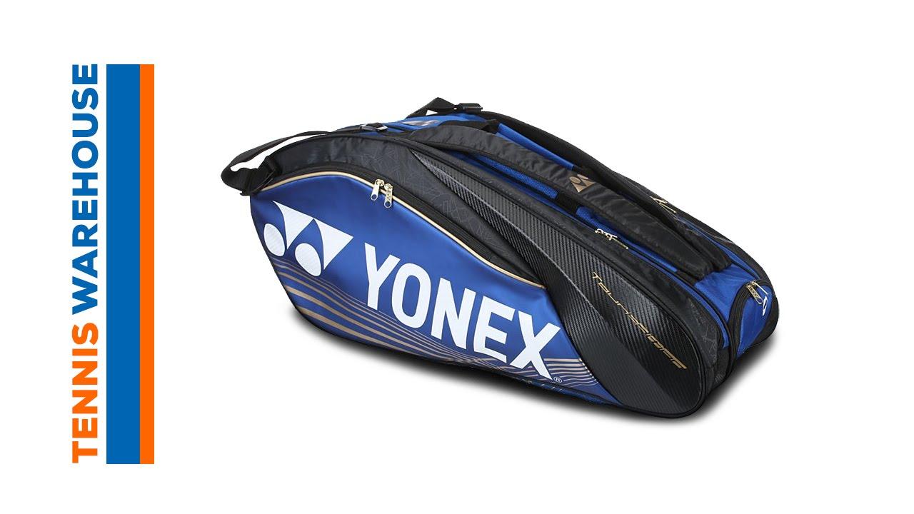 Yonex Pro Series 9 Pack Bag Tennis Warehouse