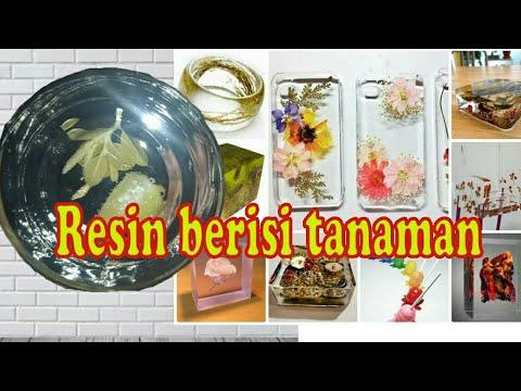 #Resin   #fiberglass Cara membuat Resin berisi tanaman