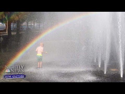 Rainbow Science: How Do Rainbows Form?   Nightly News: Kids Edition