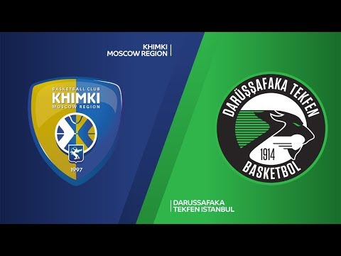 Khimki Moscow region - Darussafaka Tekfen Istanbul Highlights | EuroLeague RS Round 14