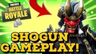 New SHOGUN Skin In Fortnite Battle Royale