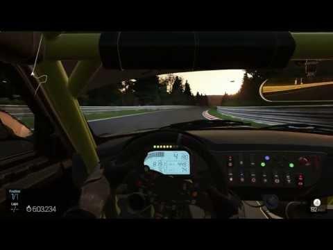 Nordschleife Bmw Z4 GT3 Onboard - Project Cars