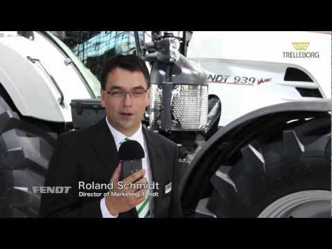 Trelleborg and Fendt at Agritechnica 2011