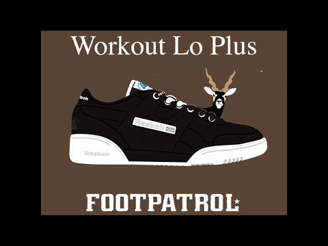 half off 31bc0 706b9 Reebok x Footpatrol Workout Lo Plus  Blackbuck  - YouTube
