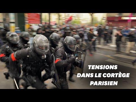 1er mai : les images des débordements dans la manifestation à Paris