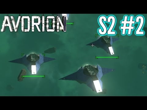 Avorion | Fleet Building!  | Ep2 S2 | Avorion Gameplay