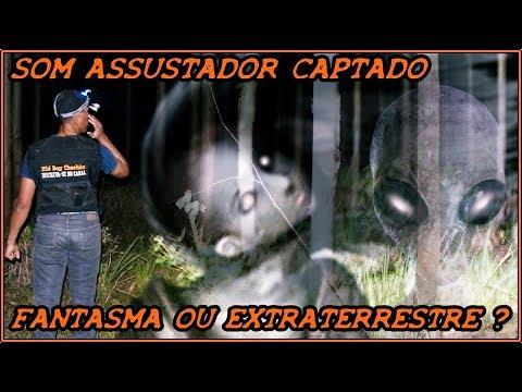 SOM ASSUSTADOR CAPTADO #FANTASMA OU EXTRATERRESTRE ?