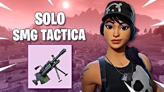 GANANDO SOLO CON SMG TACTICA !! - Fortnite: Battle Royale