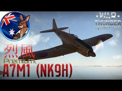 War Thunder: A7M1 (NK9H) Premium Aircraft