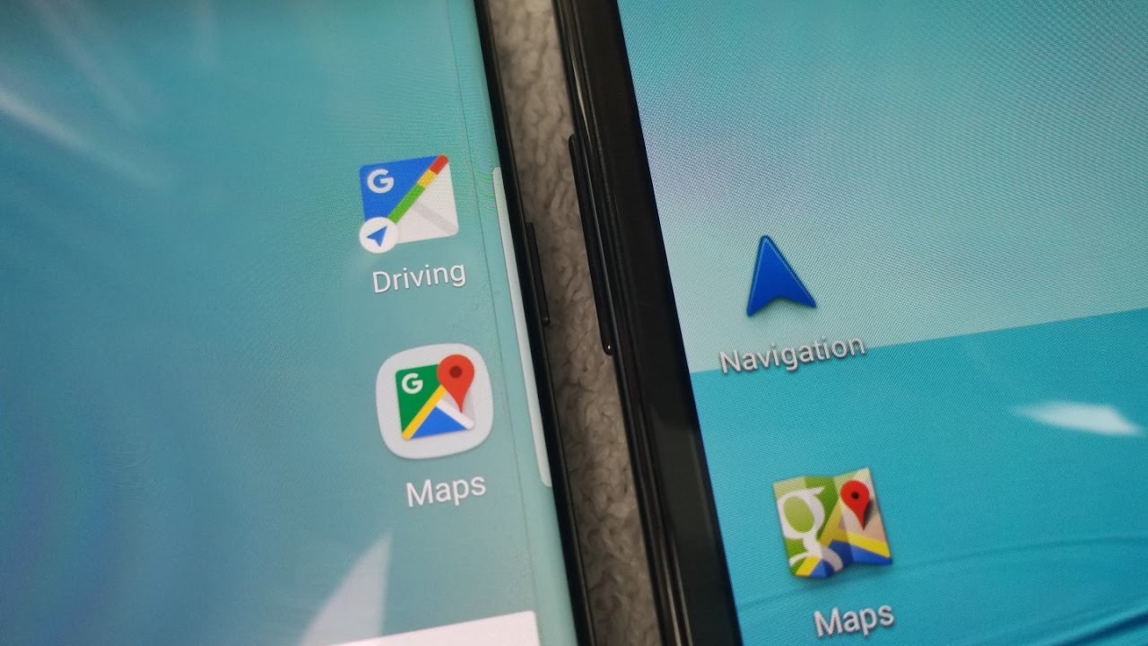 ANY Android How to add a navigation shortcut for google Maps to your home  screen